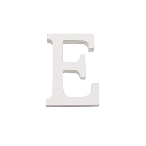Letras de Madera Baratas Blanca 15 cm