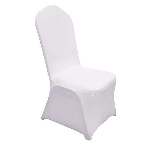 ZEHNHASE Fundas para sillas de boda, fundas de silla, universal, ampliables, para...
