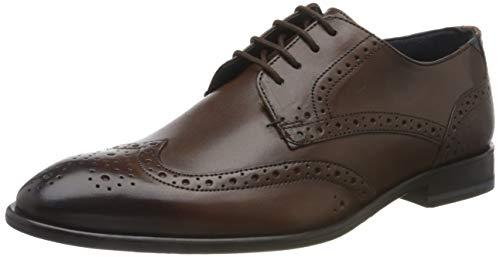 Ted Baker TRVSS, Zapatos de Cordones Brogue Hombre, Marrón (Brown Brown), 41 EU