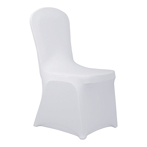 HAORUI Conjunto de Cubiertas Spandex Stretch Lycra Chair de 4 Modernas Fundas de...