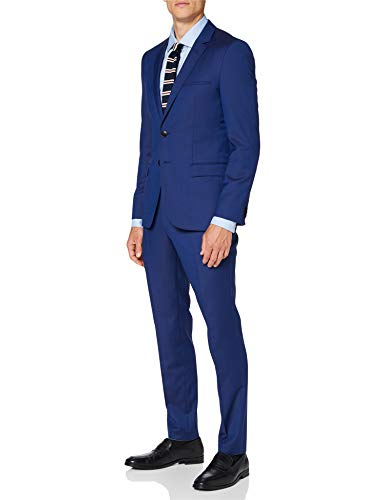 HUGO Arti/hesten193 Traje-Juego de Vestimenta, Azul Brillante (431), 48 para Hombre