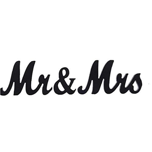 Mr&Mrs Comprar Letras para Decorar 15 cm