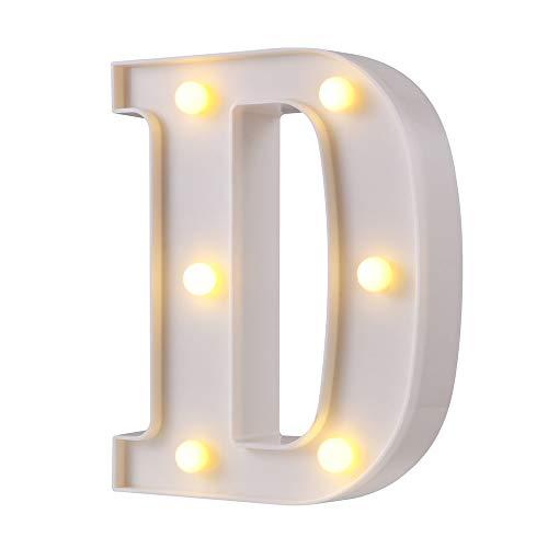 Letras Iluminadas para Boda 16 cm