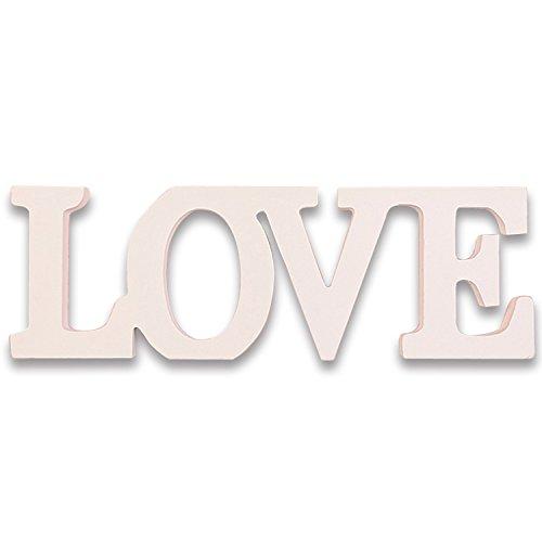 Rosenice Love firma Letras de madera boda decoración actual fotografía accesorios...
