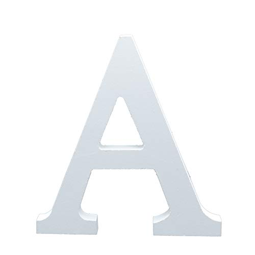 letras para Boda Madera Blanca 15 cm