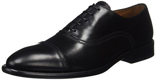 Lottusse L6553, Zapatos de Cordones Oxford Hombre, Negro (L O N D.o L D Negro), 40 EU