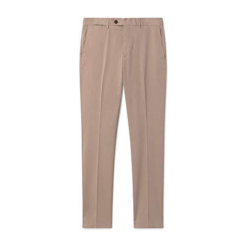 Hackett London Fine Twill DC Camisa, Blanco (White 800), 39 (Talla del Fabricante: 155)...