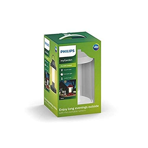 Philips Mygarden Abelia Farol LED Portátil, 3 W, Blanco