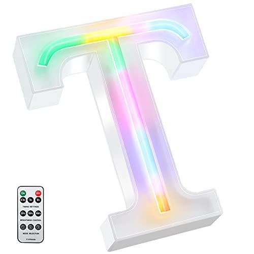 Letras para Bodas con Luces Neon 16 cm