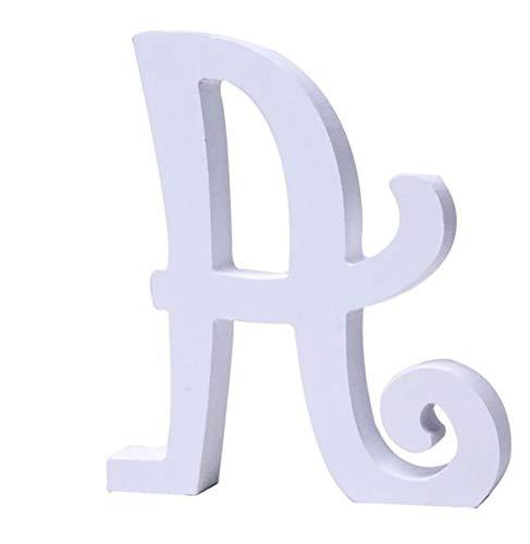 Letras Blancas de Madera 15 cm
