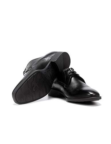 Fluchos   Vestir de Hombre   Luke F1056 Habana Negro Zapato de Vestir   Vestir de Piel  ...