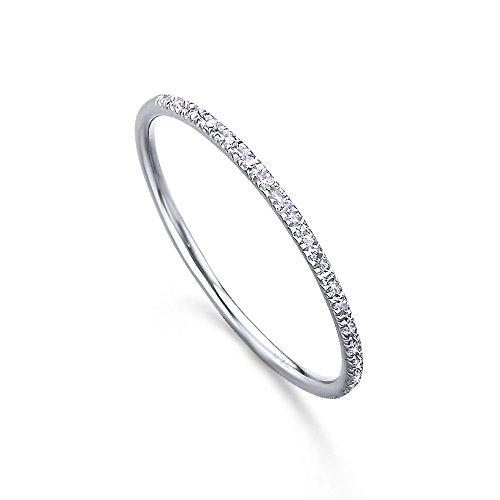Media Alianza, fabricada en Oro Blanco 18K y pequeños diamantes (H-SI), de LECARRÉ...