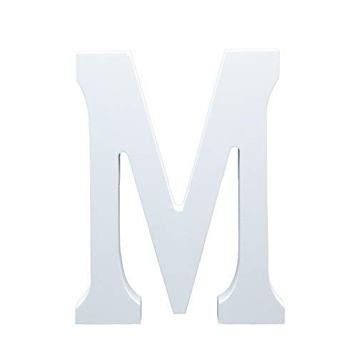 Letras de Boda Grandes Blancas 15 cm
