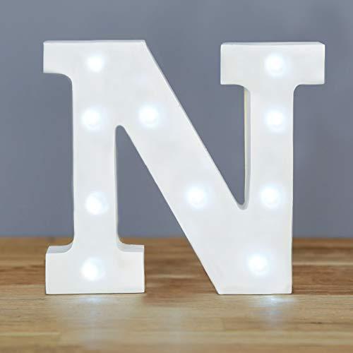 Letras con Luz para Bodas 16 cm