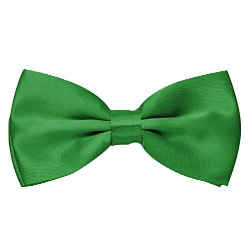 MASADA Pajarita brillante verde hierba de ajuste continuo elaborada a mano con cierre de...