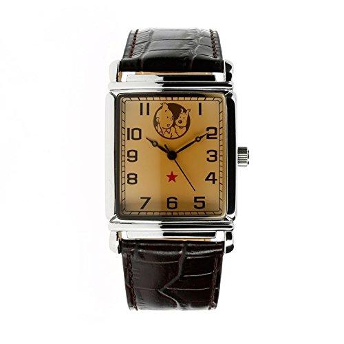 Moulinsart Reloj de Pulsera en Cuero Tintín y Milú 82409 (2012)