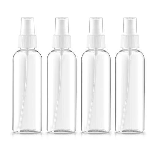 Beito 4pc Bote Spray Botella de Aerosol Vacío Plástico Transparente Niebla Fina...