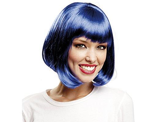 Desconocido My Other Me-201366 Peluca corta, color azul, Talla única (Viving Costumes...