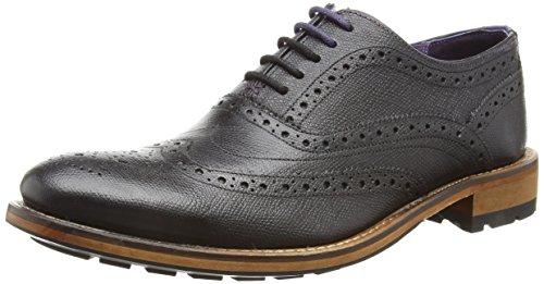 Ted Baker Guri 8 - Zapatos de Vestir Hombre, Negro (Black), 46 EU