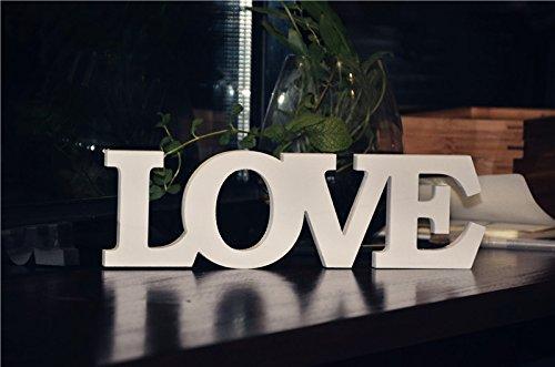 Palabra decorativa 'Love' Rainbow Fox, de PVC, palabras y letras de decoración bodas o...