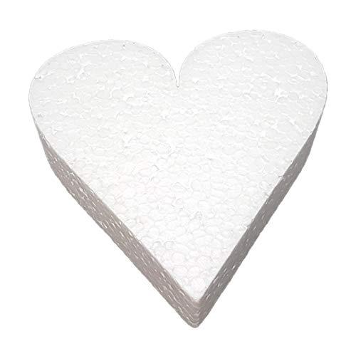 Letras Porexpan Amazon Corazón 20 cm
