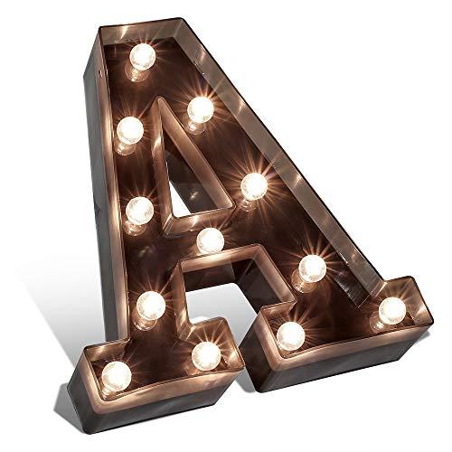 Letras Bonitas para Boda LED 16 cm