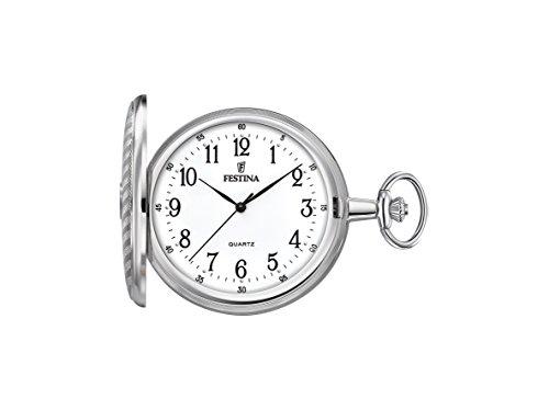 Festina Reloj Análogo clásico para Unisex de Cuarzo con Correa en Acero Inoxidable...