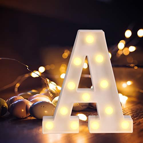Letras Luminosas Grandes 22 cm