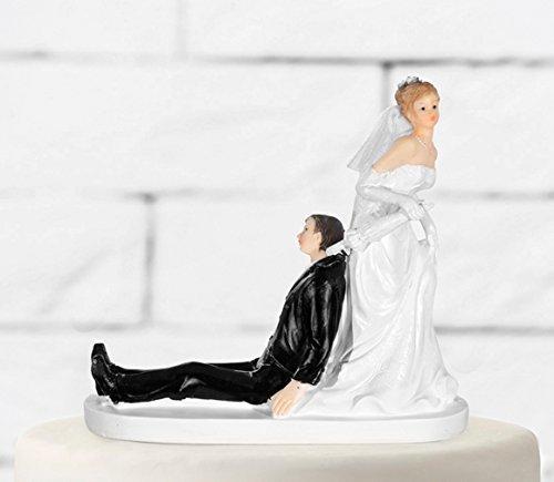 Figura para tarta de novios para boda, pareja de novios para tarta de Casa de los...