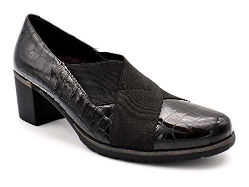 Zapato Vestir para Plantillas Pitillos M-6330 Negro 39 EU