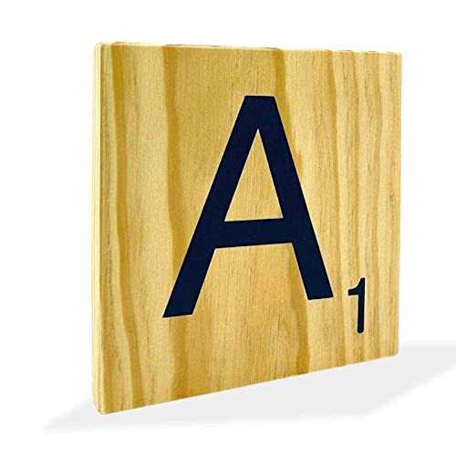 Iniciales para Bodas Scrabble 15 cm