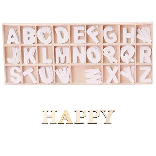 Letras Pequeñas de Madera para Manualidades  2,5 cm