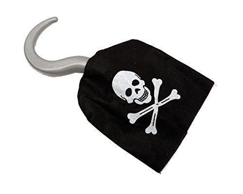 Desconocido My Other Me - Garfio de de pirata de textil, talla única (Viving Costumes...