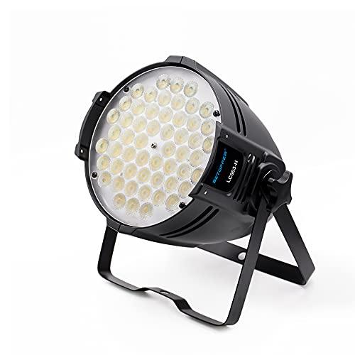 BETOPPER 54 LED Par Light Super Bright DMX-512 DJ Stage Light Blanco / Off White...