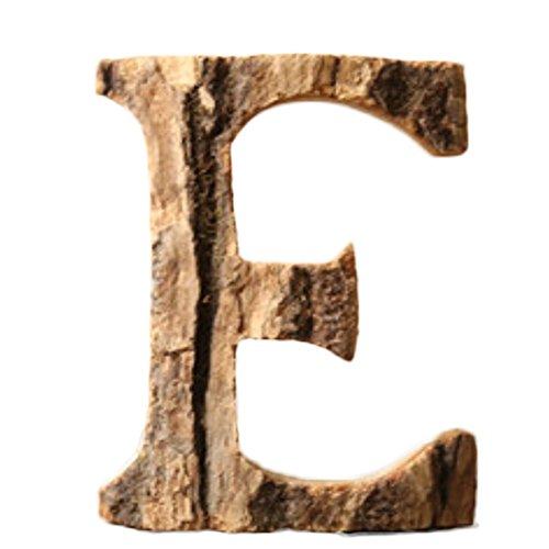 Letras Madera Grandes Rústicas 10 cm