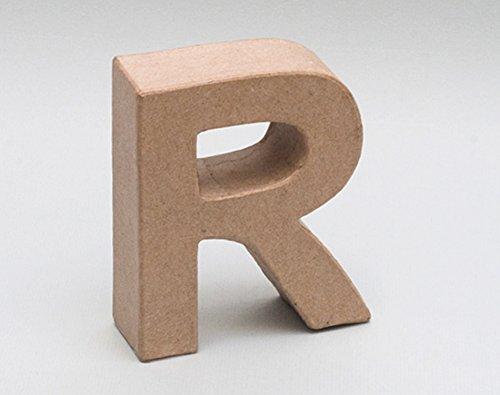 Letra de cartón - R