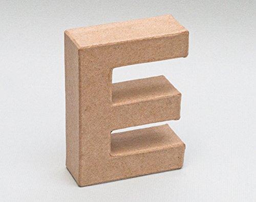 Letra de cartón - E