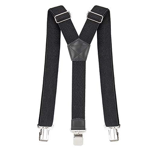 Tirantes Hombre 40 mm Ancho Tirantes para Pantalones Hombre Elegante Retro Y Forma con...