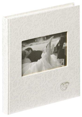 Walther Design GB-107 Music Libro para ceremonia de bodas, 144 páginas en blanco, 23 x 25...