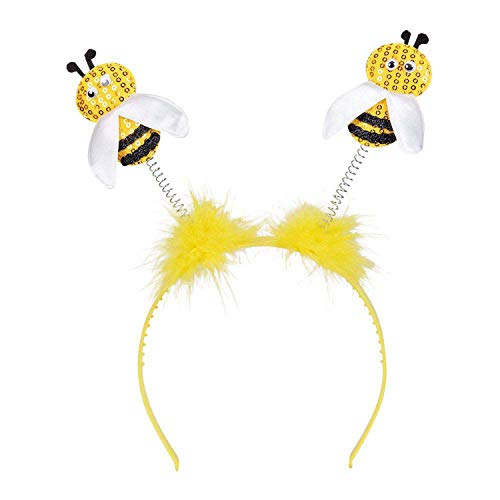 Boland Honigbiene Tiara de abejas miel, color amarillo y negro, talla única (33013)