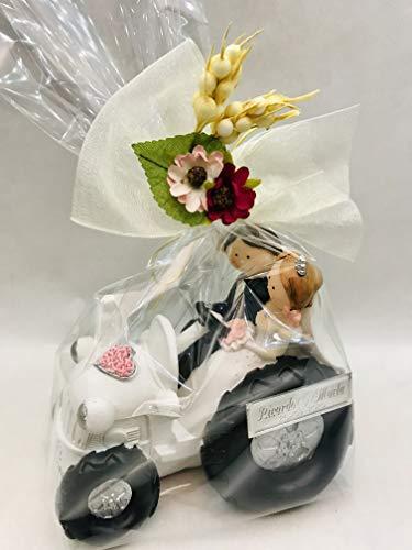 RegalosDeBodaOnline Figura Boda Novios Tractor GRABADA muñecos Personalizados Pastel...