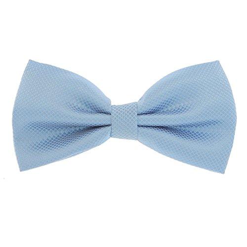 SHIPITNOW Pajarita para hombre, 20 colores, ideal para boda o fiesta azul celeste Talla...