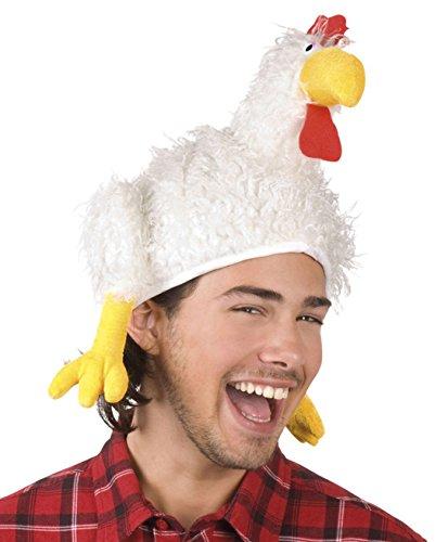 Boland 99941 - Sombrero para adulto, diseño de gallina, talla única, para carnaval,...