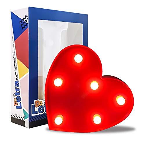 Comprar Letras Decorativas Corazón 16 cm