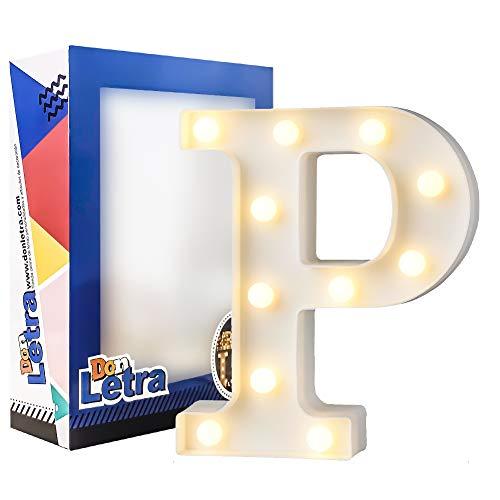 Letras Decorativas con Luces 22 cm