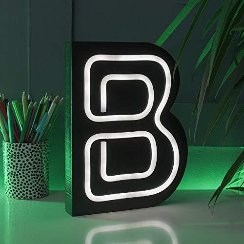 Iniciales de Letras para Bodas Neon 16 cm