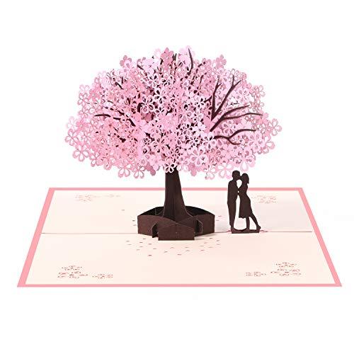 Vicloon Tarjetas de Felicitación, Tarjeta de San Valentín con Sobre, Tarjeta de...