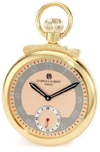 Charles-Hubert, Paris 3873-G Classic Collection - Reloj de Bolsillo mecánico Chapado en...