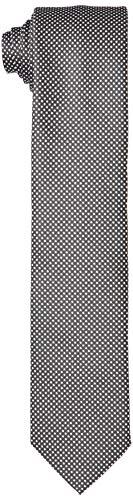 HUGO Tie Cm 6 Corbata, Negro (001), Talla Única para Hombre
