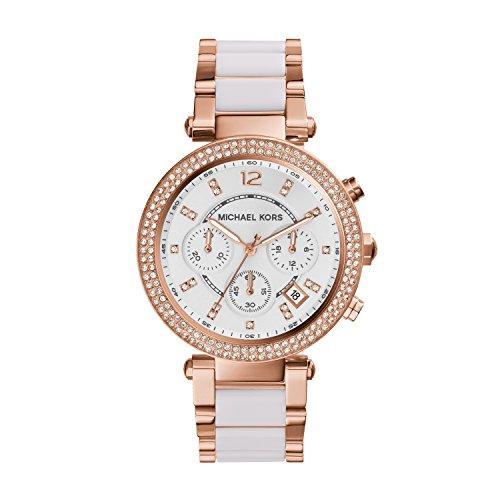 Michael Kors Reloj Cronógrafo para Mujer de Cuarzo con Correa en Acero Inoxidable MK5774